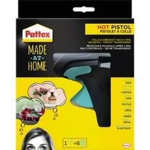 Pattex Heißklebepistole HOT PISTOL PMHHS +6x20g Heißklebesticks