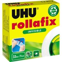 UHU Klebefilm rollafix 36310 19mmx33m invisible