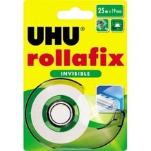 UHU Klebefilm rollafix 36970 19mmx25m invisible mit Abroller