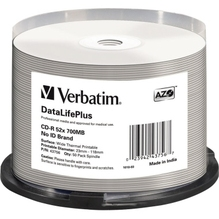 Verbatim CD-R 43756 52x 700MB Thermo Printable 50 St./Pack