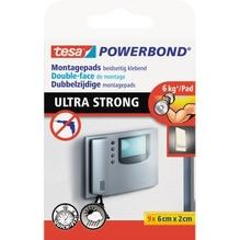 tesa Klebepad Powerbond Ultra Strong 55790-00001 9 St./Pack.