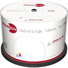 PRIMEON DVD+R 2761226 16x 4,7GB 120Min. bedruckbar 50 St./Pack.
