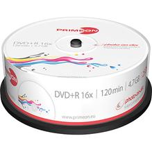 PRIMEON DVD+R 2761225 16x 4,7GB 120Min. Spindel 25 St./Pack.