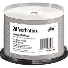 Verbatim CD-R 43756 52x 700MB Thermo Printable 50 St./Pack