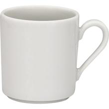 Schönwald Kaffeetasse FINE DINING 9135178 hoch 0,28l weiß 6 St./Pack.
