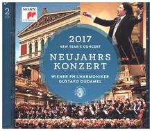 Neujahrskonzert 2017 / New Year's Concert 2017, 2 Audio-CDs