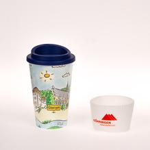 Kaffee-To-Go Becher