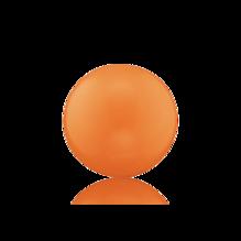 Engelsrufer Klangkugel orange L 20 mm ERS-11-L