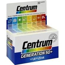 Centrum Gen.50+ A-Zink+FloraGlo Lutein Caplette 30 St