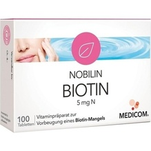 Nobilin Biotin 5 mg N Tabletten 100 St