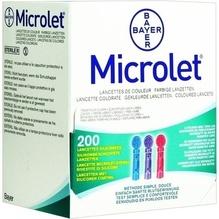 Microlet Lanzetten farbig 200 St