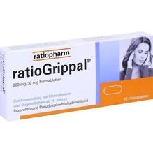 Ratiogrippal 200 mg/30 mg Filmtabletten 10 St