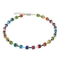 Geo Cube Collier multicolor