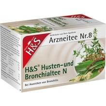 H&S Husten- und Bronchialtee N Filterbeutel 20 St