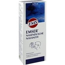 Emser Nasendusche Nasanita m.4 Btl.Nasenspülsalz 1 St