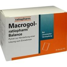 Macrogol-ratiopharm Balance Plv.z.H.e.L.z.Einn. 30 St