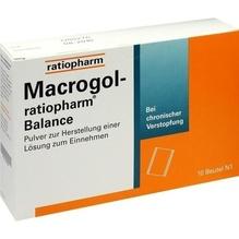Macrogol-ratiopharm Balance Plv.z.H.e.L.z.Einn. 10 St
