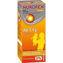 Nurofen Junior Fiebersaft Orange 2% 100 ml