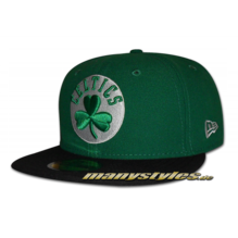BOSTON CELTICS NBA Basic Cap Kelly Green Black OTC