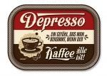 Metalltablett - Depresso