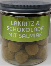 Meenk Lakritz & Schokolade mit Salmiak 150 g