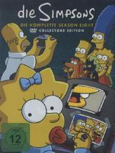 Die Simpsons. Season.08, 4 DVDs (Collectors Edition) | Groening, Matt