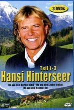 Hansi Hinterseer, Teil 1-3, 3 DVDs