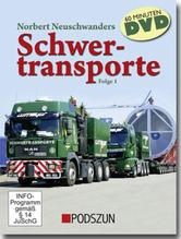 Schwertransporte. Folge.1, 1 DVD | Neuschwanders, Norbert