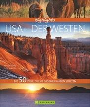 Highlights USA - Der Westen | Brinke, Margit; Kränzle, Peter