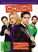Chuck. Staffel.4, 5 DVDs