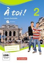 Carnet d'activités mit Audios online und eingelegtem Förderheft