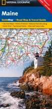 National Geographic GuideMap Maine