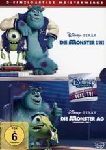 Die Monster AG / Die Monster Uni, 2 DVDs