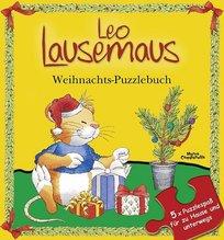 Leo Lausemaus - Weihnachts-Puzzlebuch