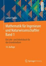 Ein Lehr- und Arbeitsbuch für das Grundstudium | Papula, Lothar
