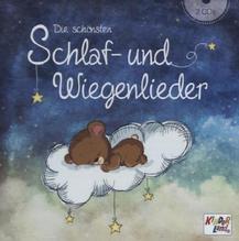 Die schönsten Schlaf- und Wiegenlieder, 2 Audio-CDs