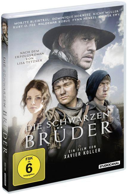 Die schwarzen Brüder, 1 DVD