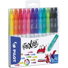 PILOT Faserschreiber FriXion Colors SW-FC-S12 4144S12 sort. 12 St./Pack