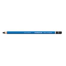 STAEDTLER Bleistift Mars Lumograph 100-8B 17,5cm 8B Schaft blau