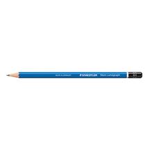 STAEDTLER Bleistift Mars Lumograph 100-6H 17,5cm 6H Schaft blau