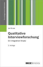 Qualitative Interviewforschung | Kruse, Jan