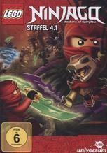 LEGO Ninjago. Steffel.4.1, 1 DVD