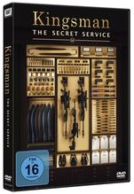 Kingsman: The Secret Service, 1 DVD