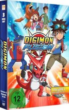 Digimon Fusion, 3 DVDs