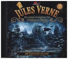 Die neuen Abenteuer des Phileas Fogg - Der Schatz von Atlantis, 1 Audio-CD | Verne, Jules