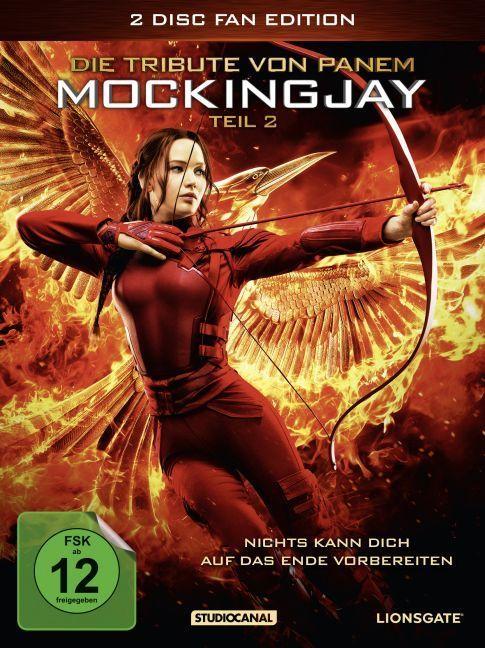 Die Tribute von Panem - Mockingjay. Tl.2, 2 DVDs (Fan Edition) | Collins, Suzanne