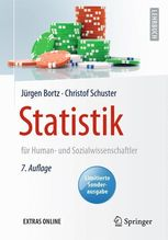 Statistik für Human- und Sozialwissenschaftler | Bortz, Jürgen; Schuster, Christof