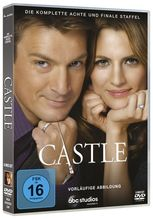 Castle. Staffel.8, 6 DVDs