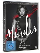 How to get Away with Murder. Staffel.2, 4 DVDs