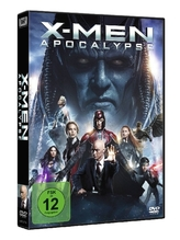 X-Men Apocalypse, 1 DVD